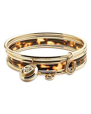 Lauren Charm Bangle Bracelets