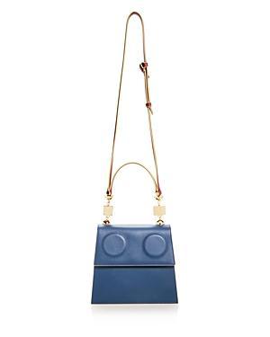 Marni Medium Color-block Leather Satchel