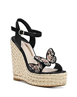 Sophia Webster Women's Riva Butterfly Wedge-heel Espadrille Sandals