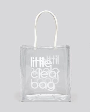 Bloomingdale's Tote - Little Clear Bag
