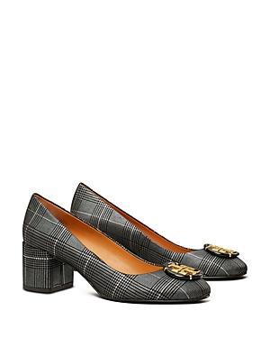 Tory Burch Women's Embellished Suede High Heel Pumps