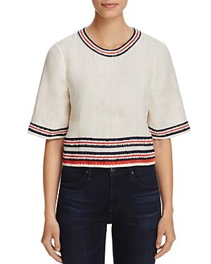 Tory Burch Florentina Embroidered Top