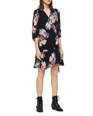 Allsaints Jade Floral-print Wrap Dress - 100% Exclusive