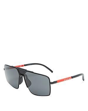 Prada Men's Flat Top Square Sunglasses, 59mm