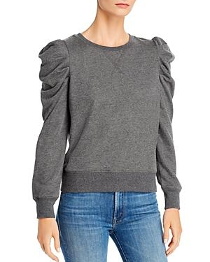 Rebecca Minkoff Janine Pleated-shoulder Sweatshirt