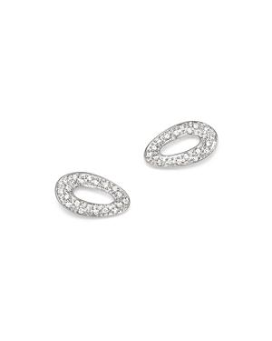 Ippolita Sterling Silver Cherish Diamond Stud Earrings