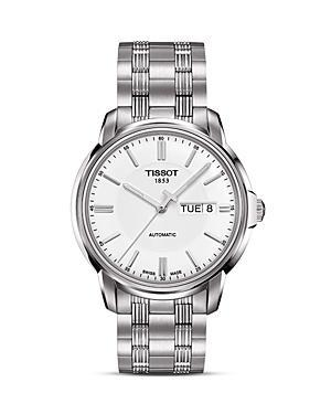Tissot Men's Automatic Iii Classic White Automatic Watch, 39mm