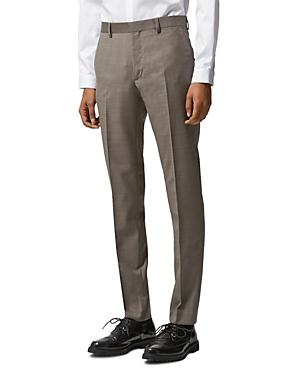 The Kooples Zig Zag Wool Suit Trousers