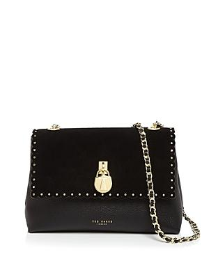 Ted Baker Margiat Scalloped Mini Leather Crossbody Bag