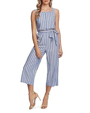 Cece Striped Cropped Jumpsuit