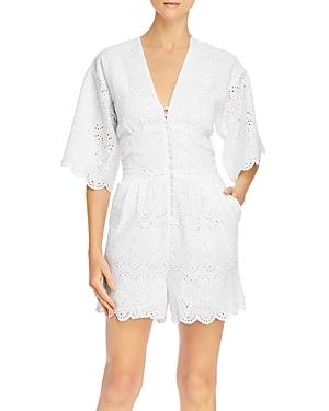 Notes Du Nord Omia Cotton Eyelet Romper
