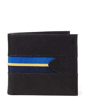 Polo Ralph Lauren Grosgrain Striped Billfold Wallet