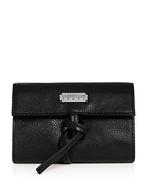 Lambertson Truex Pebbled Leather Soft Utility Roll