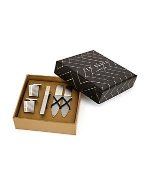 Ted Baker Blinder Cufflink, Tie Bar & Collar Stay Gift Set