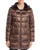 Calvin Klein Packable Shiny Down Coat