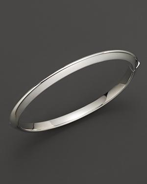 Roberto Coin 18k White Gold Bangle