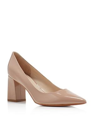 Marc Fisher Ltd. Zala Patent Leather Pointed Toe Pumps