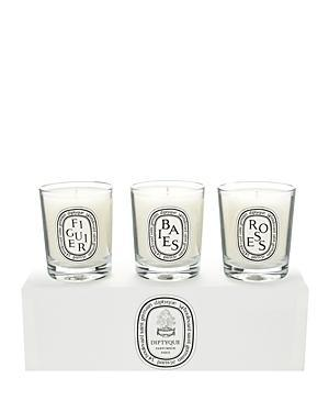 Diptyque Baies, Figuier, Roses Candle Set