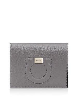 Salvatore Ferragamo Mini Gancini Leather Wallet