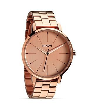 Nixon The Kensington All Rose Gold Watch, 36.5mm