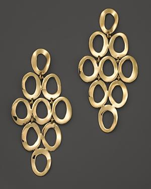 Ippolita 18k Yellow Gold Open Cascade Earrings