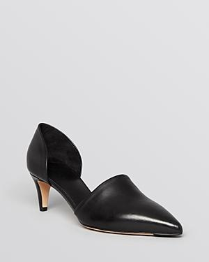 Vince Pointed Toe D'orsay Pumps - Aurelian