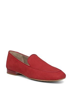 Donald Pliner Honey Nubuck Leather Loafers