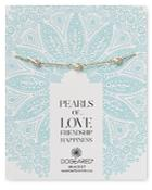 Dogeared Cultured Freshwater Pearl Bracelet