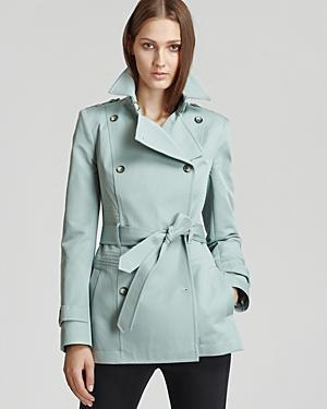 Reiss Coat - Caines Short Belted