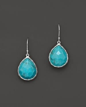 Ippolita Small Turquoise Teardrop Earrings
