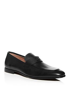 Salvatore Ferragamo Men's Silas Leather Apron-toe Loafers