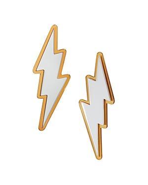 Baublebar Polaris Lightning Bolt Stud Earrings
