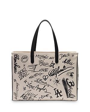 Golden Goose Deluxe Brand Graffiti Print East West California Bag
