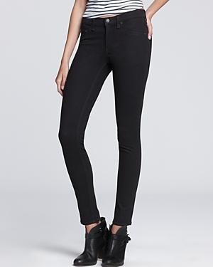 Rag & Bone/jean Leggings - The Mid-rise Plush Twill