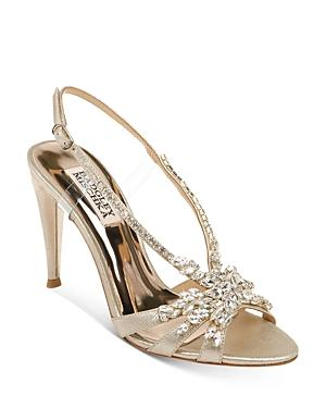Badgley Mischka Women's Jacqueline Ii Embellished Strappy High-heel Sandals