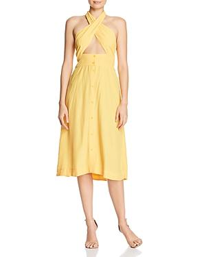 S/w/f Cross-front Dress