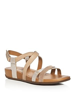 Fitflop Lumy Tonal Crisscross Sandals
