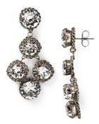 Sorrelli Crystal Rock Earrings