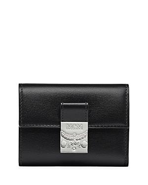 Mcm Patricia Leather Trifold Wallet