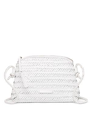 Loeffler Randall Mallory Woven Leather Crossbody