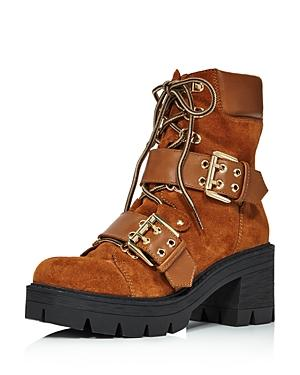 Aqua Women's Genie Buckle Hiker Boots - 100% Exclusive