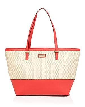 Kate Spade New York Tote - Cedar Street Straw Small Harmony