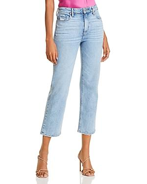Paige Vintage Noella Ankle Straight Jeans In Liza