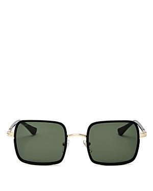 Persol Unisex Square Sunglasses, 50mm