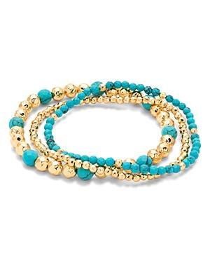 Gorjana Gypset Beaded Stretch Bracelets