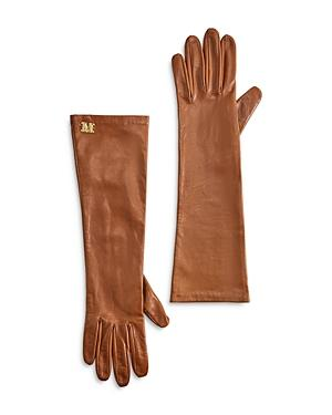 Max Mara Afide Leather Gloves
