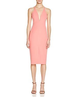 Bardot Deep V Neck Dress - 100% Bloomingdale's Exclusive