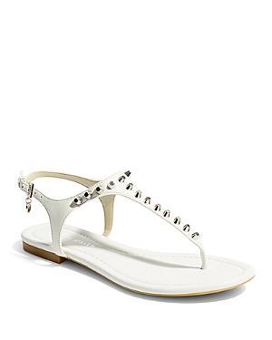 Karen Millen Women's Studded Thong Sandals