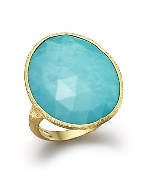 Marco Bicego 18k Yellow Gold Turquoise Ring - 100% Exclusive