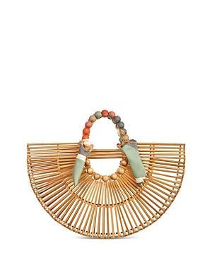 Cult Gaia Fan Ark Medium Bamboo Bag